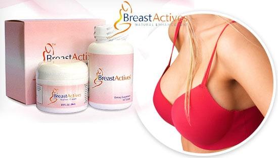 Breast Actives system of pills plus cream plus breast exercises
