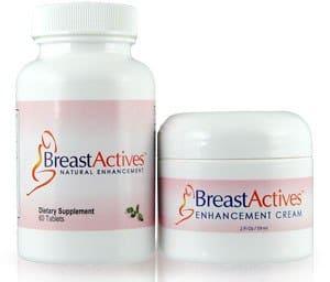 Breast Actives pilules plus crème